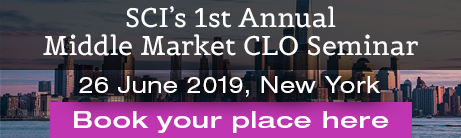 SCI's 1st Annual Middle Market CLO Seminar26 June 2019, New York